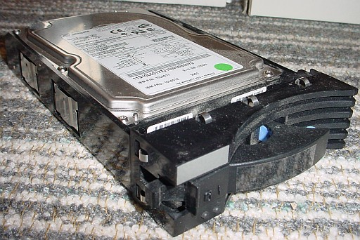 Picture of IBM 9,1 GB Harddisk Tray (Seagate Cheetah)