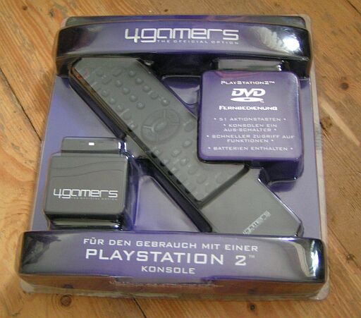 Picture of 4Gamers Playstation 2 Afstandsbediening DVD