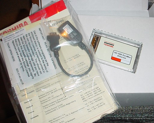 Picture of Toshiba Xircom Fast Ethernet CARDBUS 10/100 Retail PC-Card